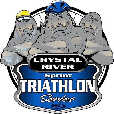 Logo Zawodów Crystal River Triathlon Sprint Series September #2 2020